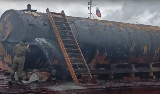 Ивновь разлив нефтепродуктов— теперь рядом сБайкалом