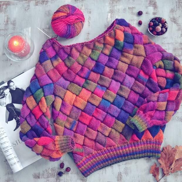 техника вязания варежек и перчаток