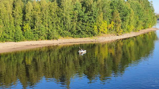 Рыбаки на реке Свирь