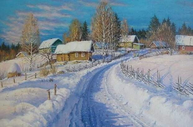 художник Олег Пятин картины – 22