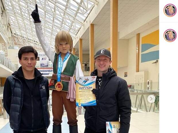 Александр Плющенко победил на турнире по фигурному катанию в Строгине
