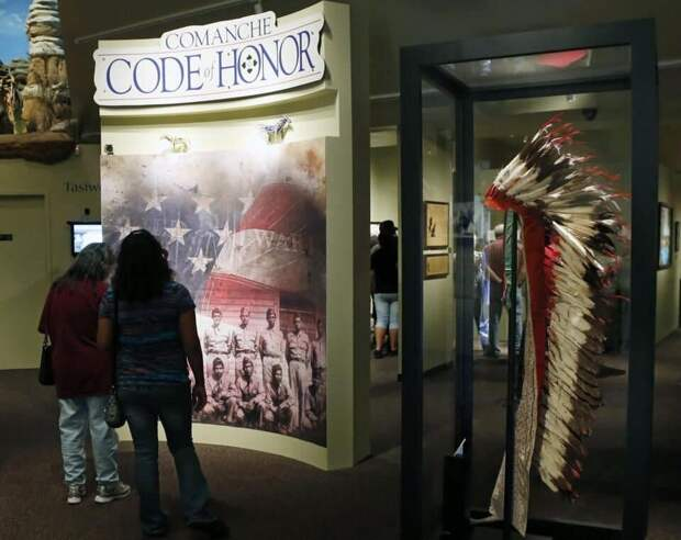 Музей команчей в Оклахоме.
