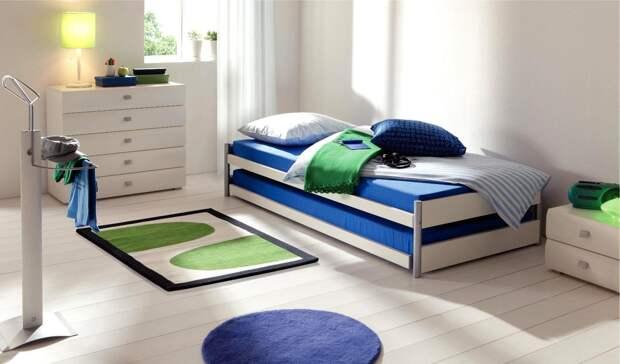 Выдвижная кровать – универсальное сочетание комфорта и компактности (43 фото)