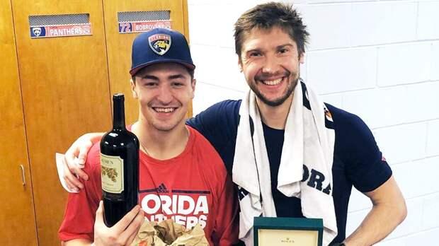 Бобровский купил игровой номер завино, обед изMcDonald's иRolex. Что нового урусских хоккеистов