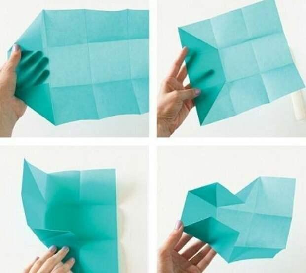 Коробочка из бумаги Diy