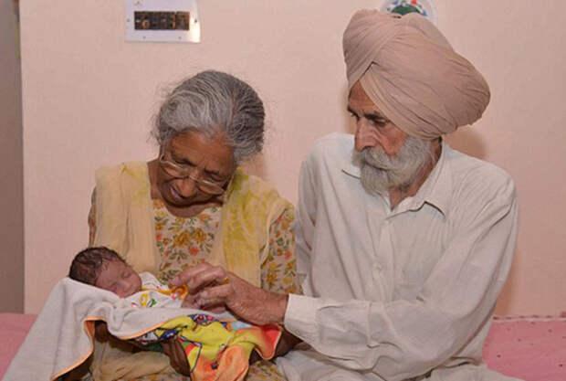 Зачем 72-летняя индийская женщина родила первенца