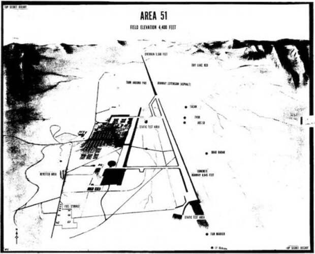 Странные факты о Невадском треугольнике