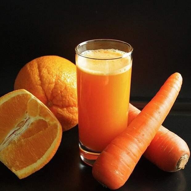"""""""Морковно-апельсиновый сок"""""""