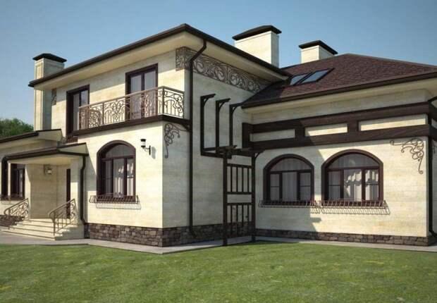 СтройРемПлан. Чем лучше облицевать фасад частного дома