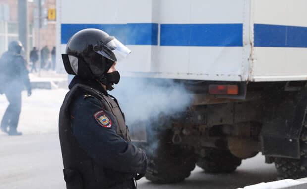 Правоохранительные органы призвали новосибирцев воздержаться от участия в несанкционированных акциях