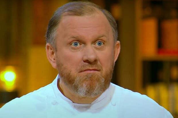 «Сумасошел!»: шеф-повар Ивлев устроил насъемках телешоу продуктовый скандал