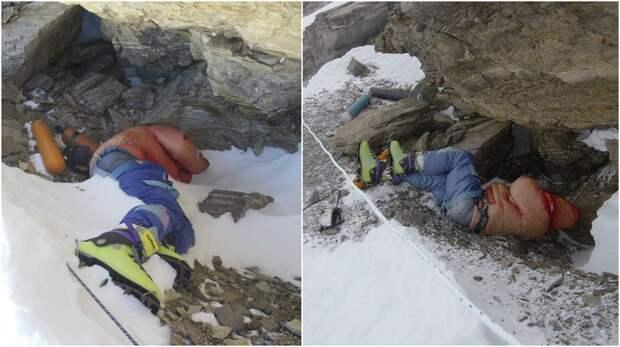 «Зеленые ботинки» на склоне Эвереста. Кто же этот альпинист?