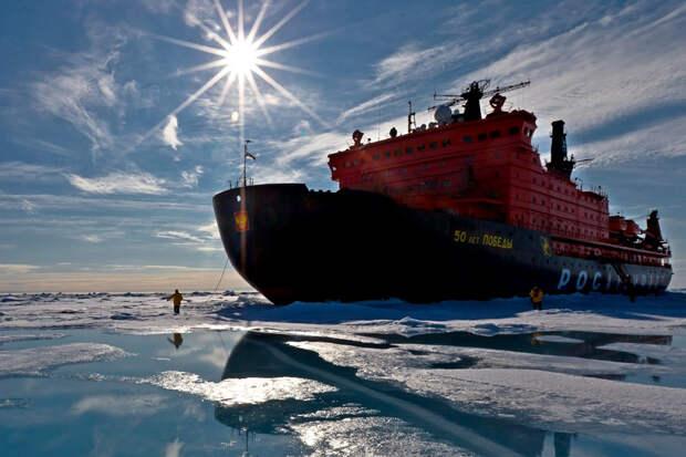 Глава Госдепа назвал Арктику новым «театром конфликта» между Россией и США