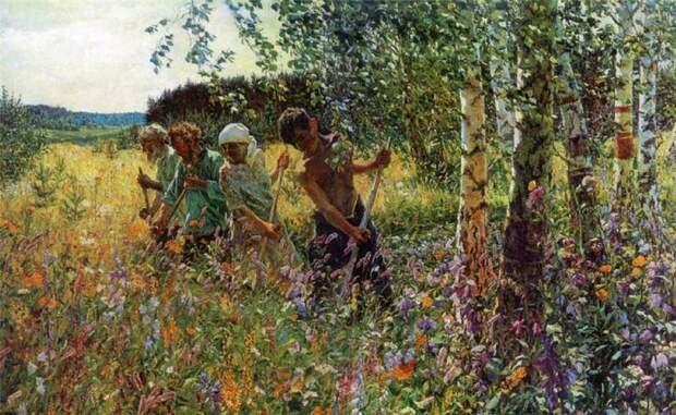 Жизнеутверждающие картины русского художника Пластова