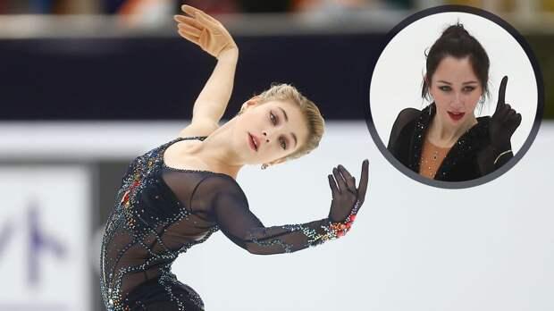 Косторная — о 2-м месте на Гран-при России: «Я немного расстроена, но очень рада за Туктамышеву»