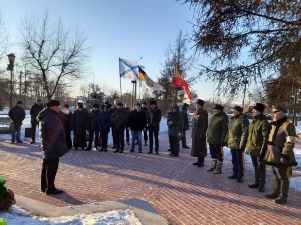 К годовщине юбилейных памятных колчаковских дней 5-7 февраля 2020 года в Сибири