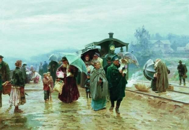 художник Николай Касаткин картины – 03