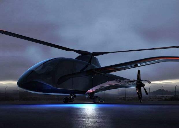 Американцы создадут водородный вертолет