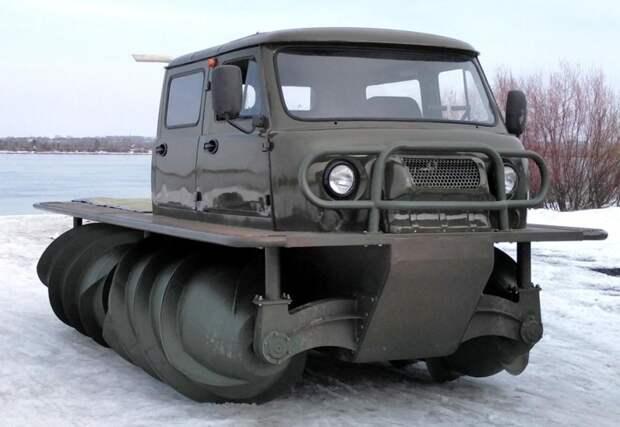 Производство винтовых вездеходов возобновлено в России ЗВМ-2901, производство, снегоболотоход