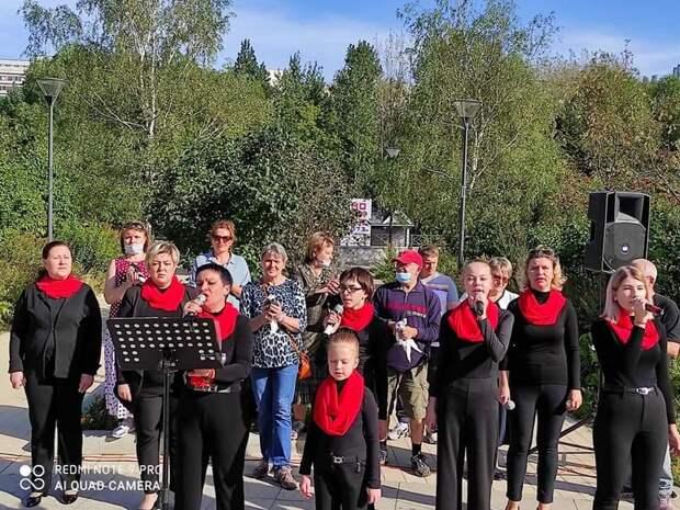 На Певческом поле провели акцию ко Дню солидарности в борьбе с терроризмом