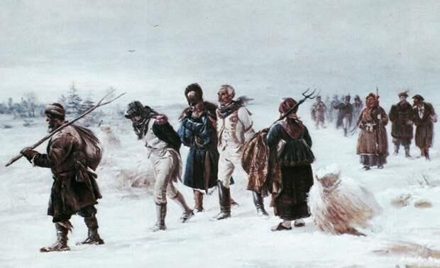 Как воевали русские крестьяне против Наполеона
