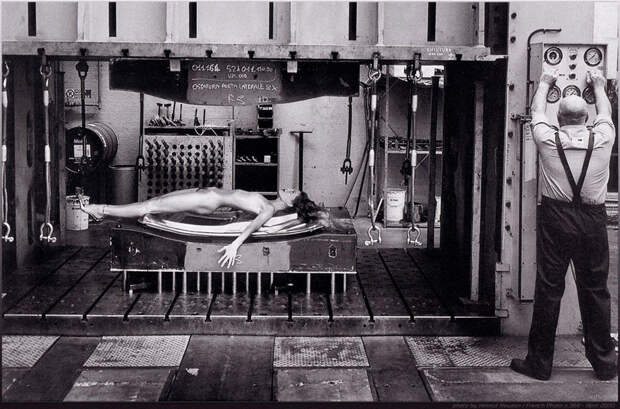 Редкие фото Хельмута Ньютона
