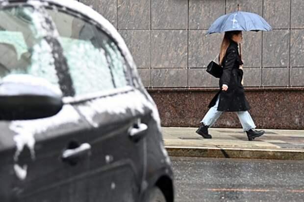 Москву снова накроет снегопад