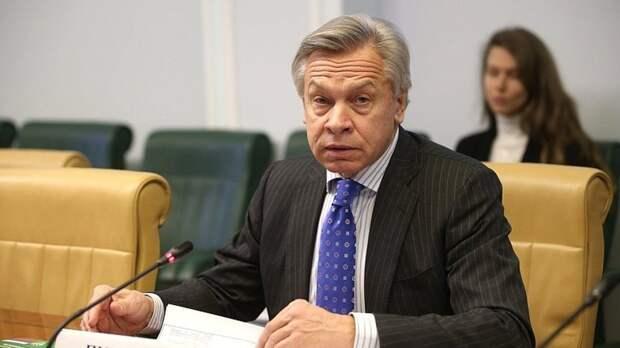 Пушков оценил намерение Великобритании отправить корабли в Черное море
