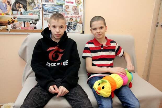 Братьям Артемию и Даниилу нужна семья