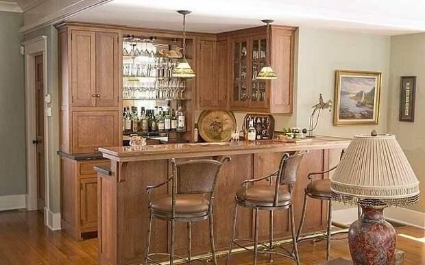 Барная стойка для современной кухни