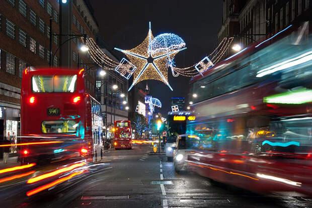 Прогулка по рождественскому Лондону