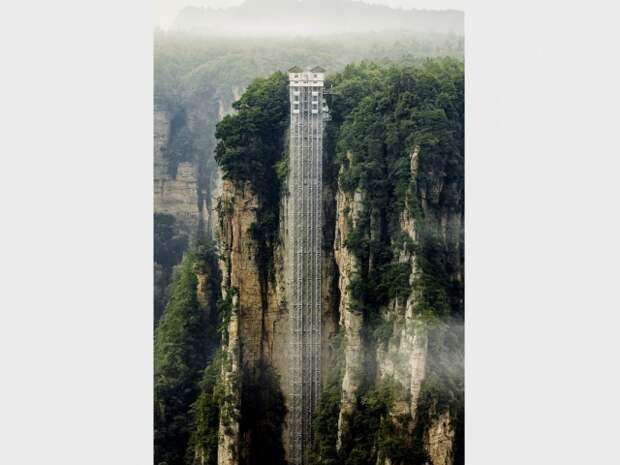 Bailong Elevator, Китай, Хунань