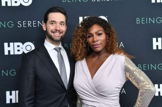 серена уильямс с мужем