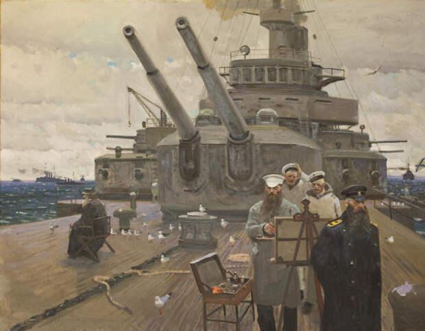 Последний поход. 1905 год. Русско-Японская война. Автор: Павел Рыженко.