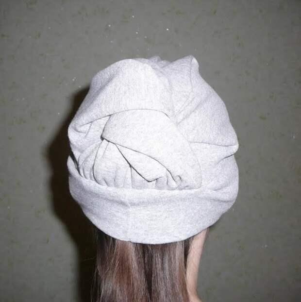 Необычная шапка diy