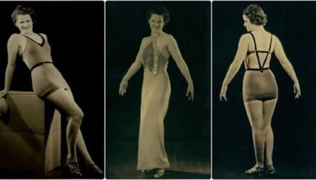 Как выглядели женские купальники от модного дизайнера 1930‑х годов