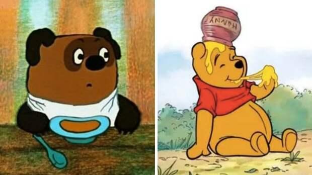 Чей Винни-Пух лучше, кормёжка медведя и бигмакоёмкость зарплат