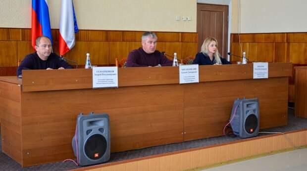 В администрации Черноморского района состоялось совещание, посвященное работе карьеров и уборке пляжных территорий