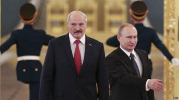 Лукашенко не помешает России поглотить Белорусси