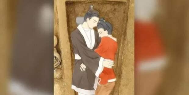 1500 лет назад китаянка пожертвовала собой, чтобы быть похороненной с любимым мужем