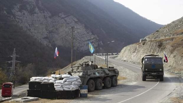 Миротворцы России подверглись обстрелу азербайджанских военных