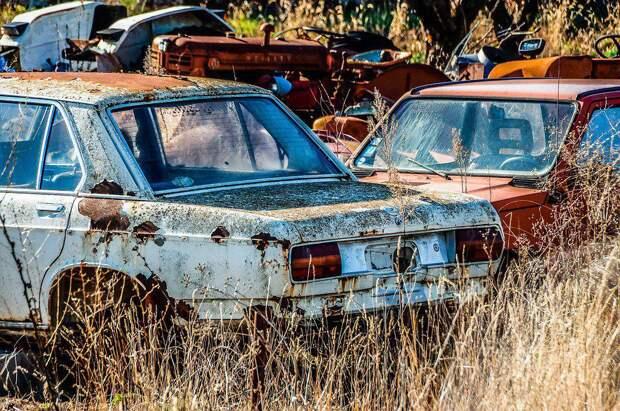Брошенные авто. Фото: Pixabay.com