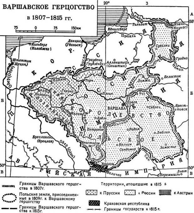 Южные декабристы хотели возродить Польшу. За счёт России