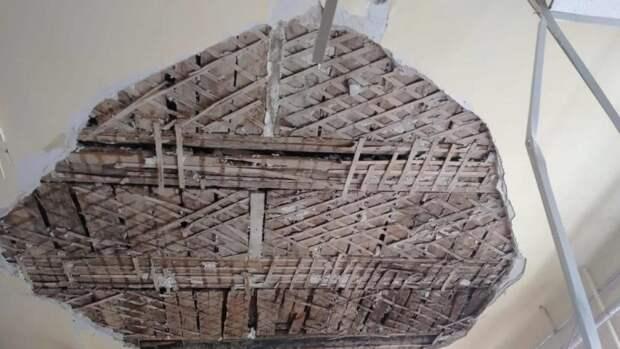 Потолок рухнул на школьников в Армавире, ФАН узнал подробности