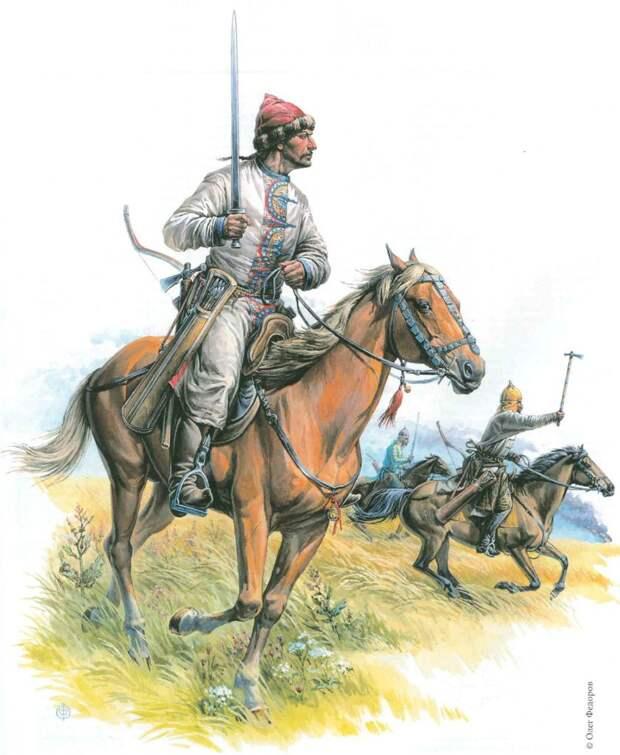Воины Хазарского каганата