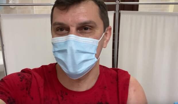 Депутат Госдумы отНижнего Тагила Балыбердин поставил вторую прививку отCOVID-19