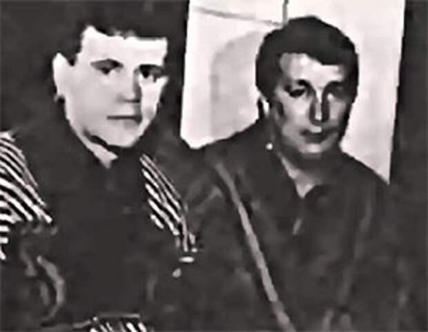 Валерий Ледовских (Бабуин) с коллегой