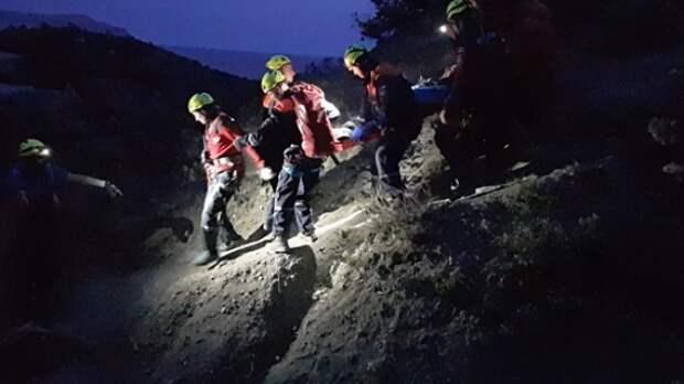 В Крыму альпинист сорвался с 30-метровой высоты