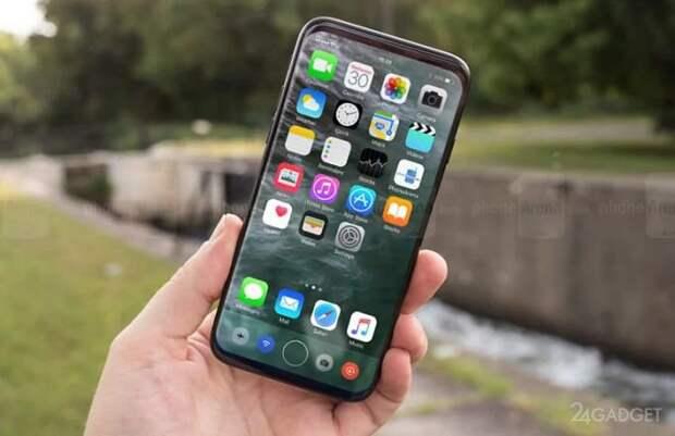 Клон iPhone 8 с безрамочным дизайном появился раньше оригинала