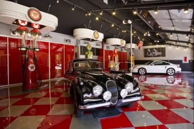 Топ-10: Самые крутые гаражи в мире